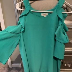 UMGEE cold shoulder top